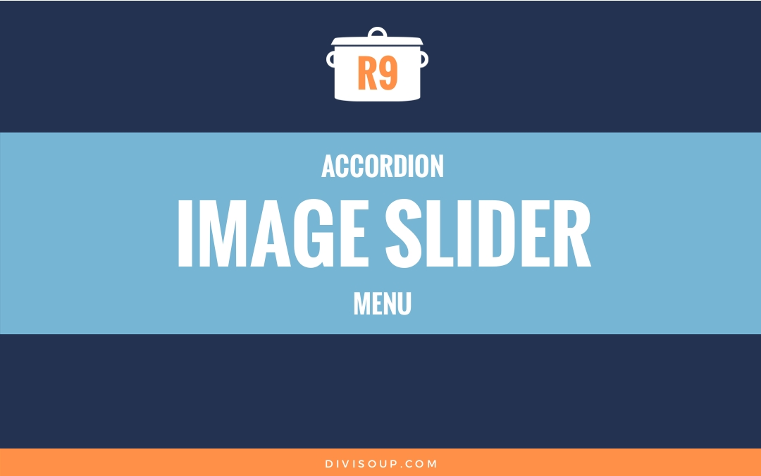 R9: Accordion Image Slider Menu