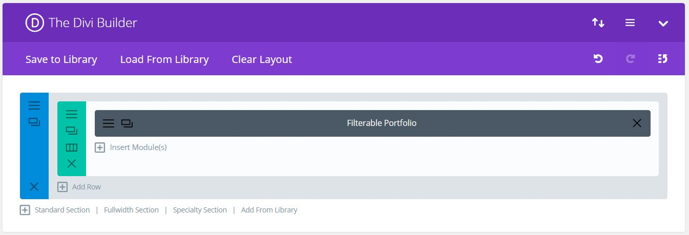 How to change columns and image sizes in the filterable portfilio