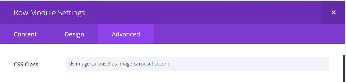 How to create a scrolling image carousel divi tutorial