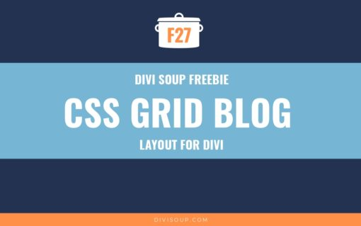 F27: CSS Grid Blog Layout