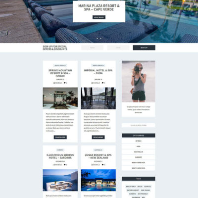 Coast Blog Kit for Divi