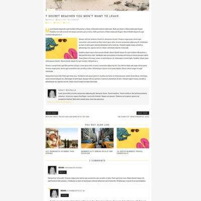 Journal Blog Kit for Divi