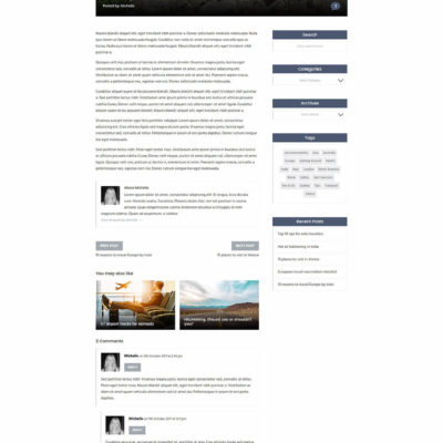 Nomad Blog Kit for Divi
